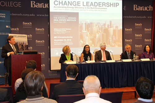 Photo courtesy of The Steven L. Newman Real Estate Institute at Baruch College, R.J.Harper, Photographer